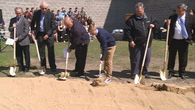 Officials host groundbreaking for new addition at Luther High School