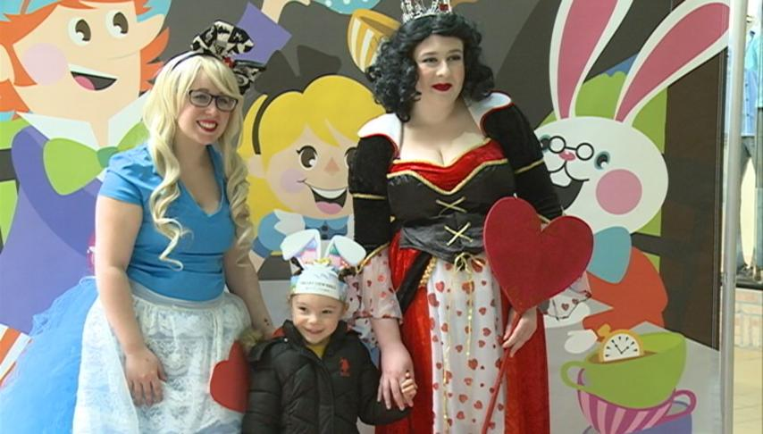 Valley View Mall hosts Mad Hatter Tea Party