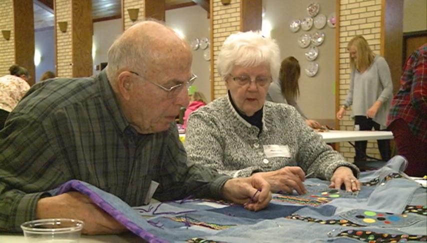 Project Linus makes blankets for kids in need