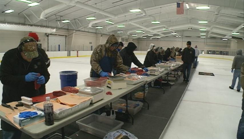 Area butchers compete in national meat cutting challenge