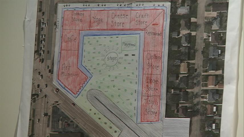 La Crosse Middle School students consider future of K-Mart site