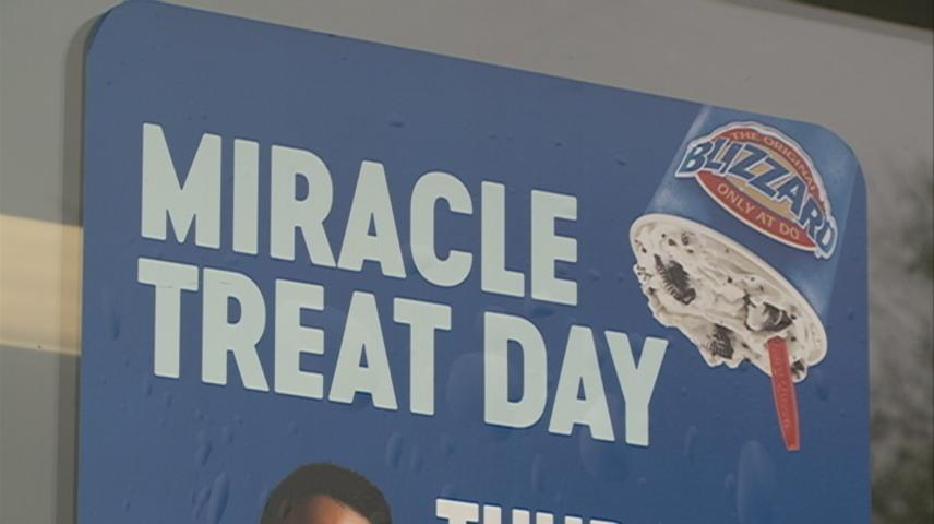 Miracle Treat Day benefits Children's Miracle Network