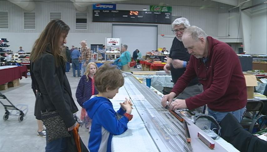 Annual La Crosse and 3 Rivers Model Railroad show held at the Omni Center