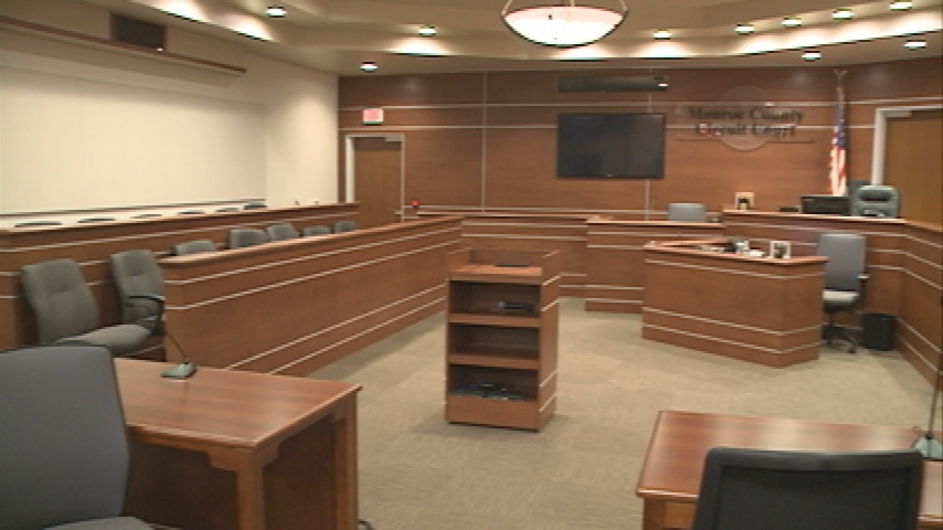 Monroe Co. judges hold first day of court in new justice center