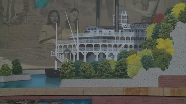 3D mural in La Crosse complete; landscaping being finished
