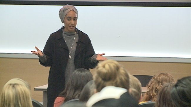 Muslim model encourages others to blaze their own path