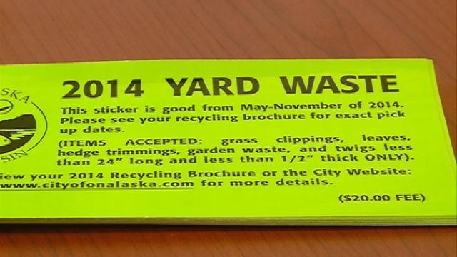 Changes to yard waste pick-up in Onalaska