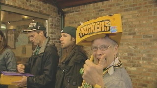 Packer fans rally in Seattle ahead of Sunday game