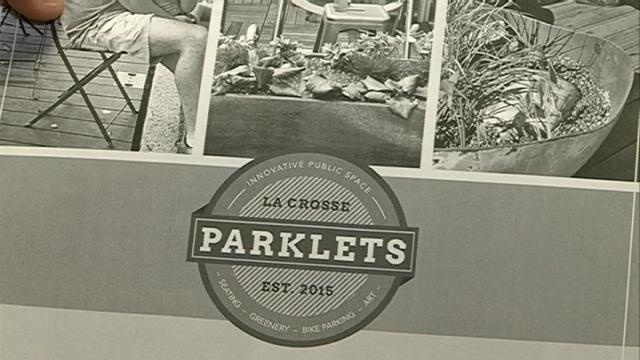 Applications for parklets are now being accepted in La Crosse