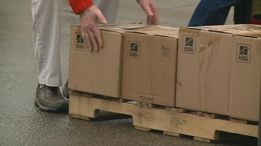 Pet food, supplies donated to WAFER in La Crosse