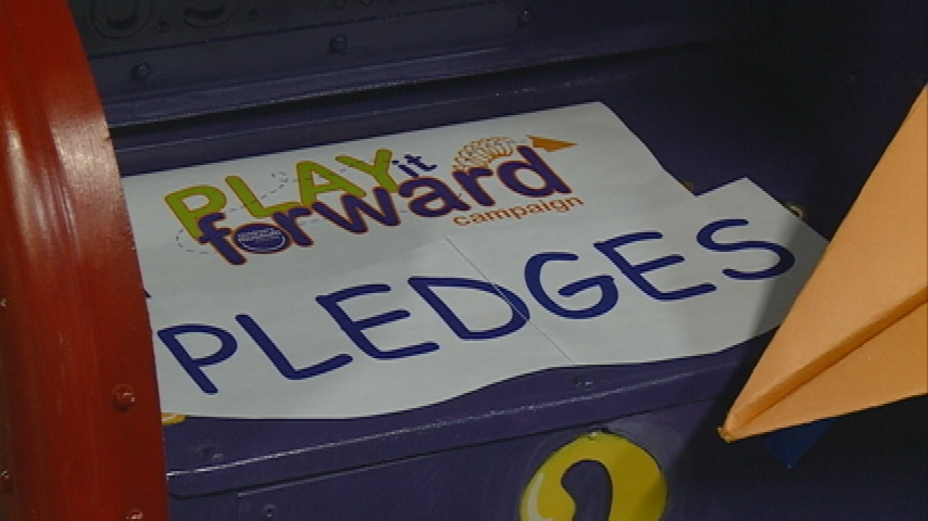 "Children's Museum halfway to ""Play it Forward"" fundraising goal"