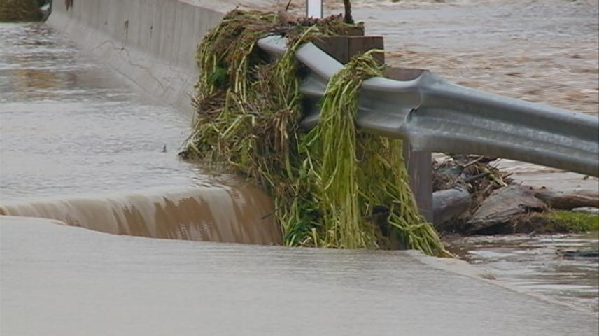 Historic river flooding totals in Vernon, Crawford Counties