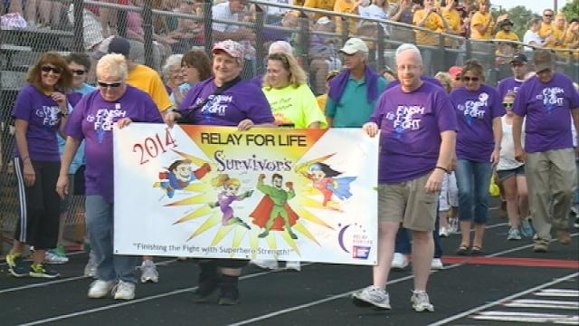 """Community members take part in """"Relay for Life'"""