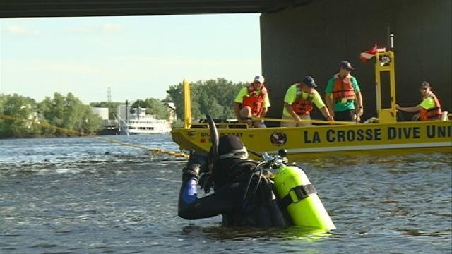 Van, car found at bottom of Black River in La Crosse
