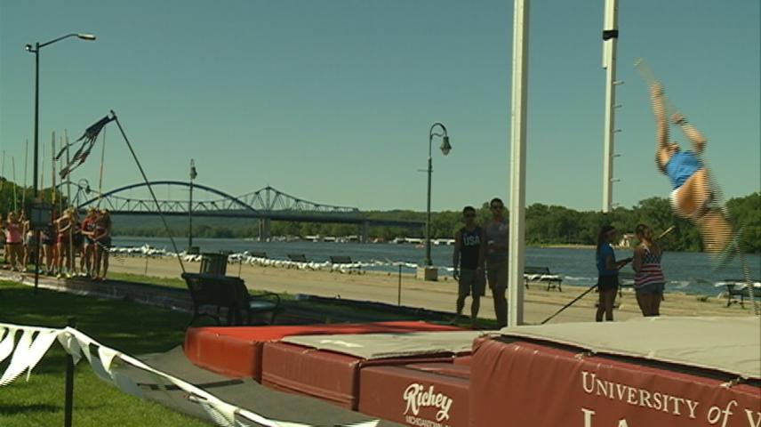 River Vault brings high flying sport to Riverfest