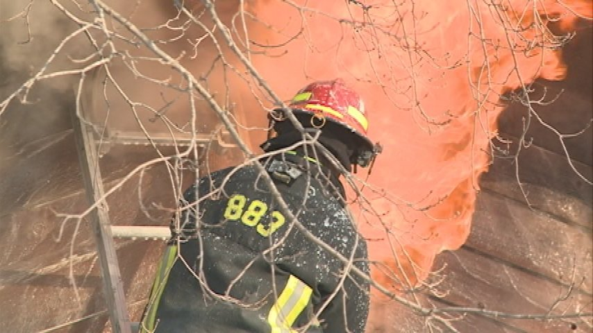 Rockland home a total loss following fire