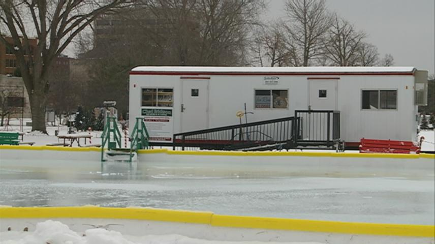 Ice Rink opens at Rotary Lights in La Crosse