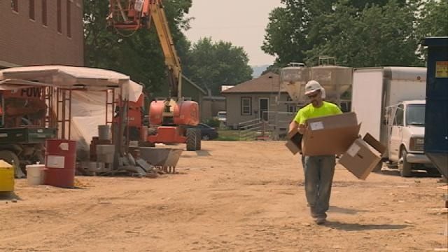 School district works to finish summer projects