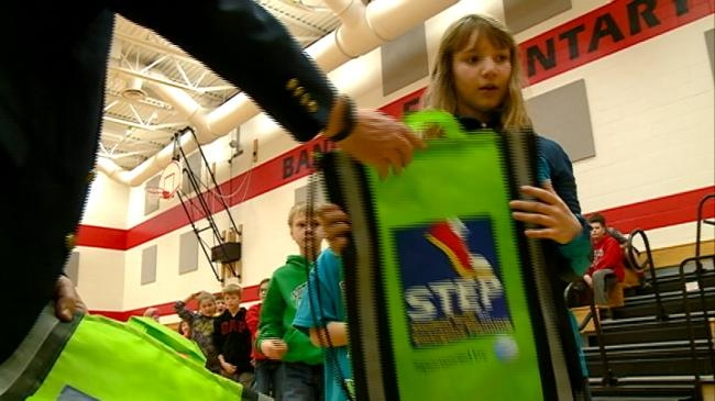 Bangor Elementary School students prepare for severe weather