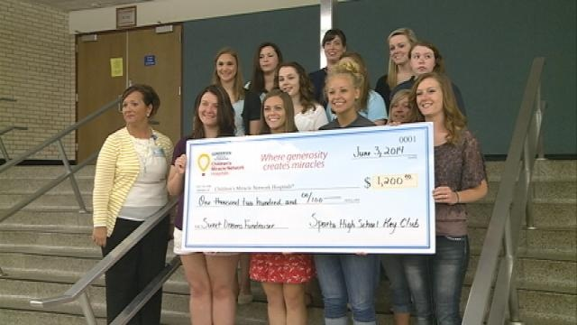 Students raise money for the Childern's Miracle Network