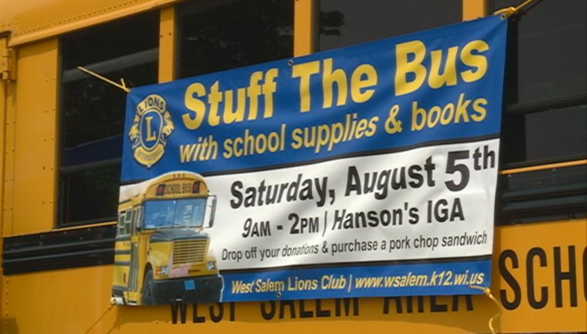 """Lions clubs host """"Stuff The Bus"""" event"""