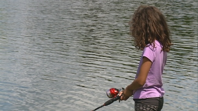 Fifth annual 'Take Your Kids Fishing' event held at Pettibone