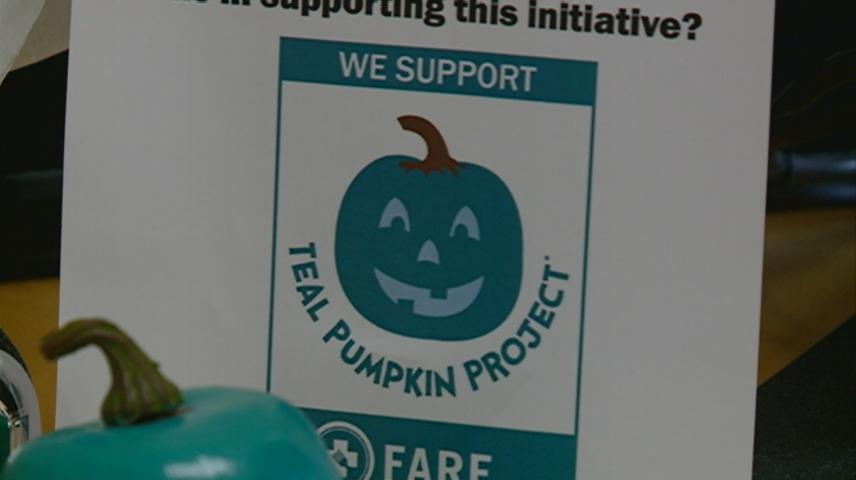 Teal Pumpkin Project encourages allergy safe treats for Halloween