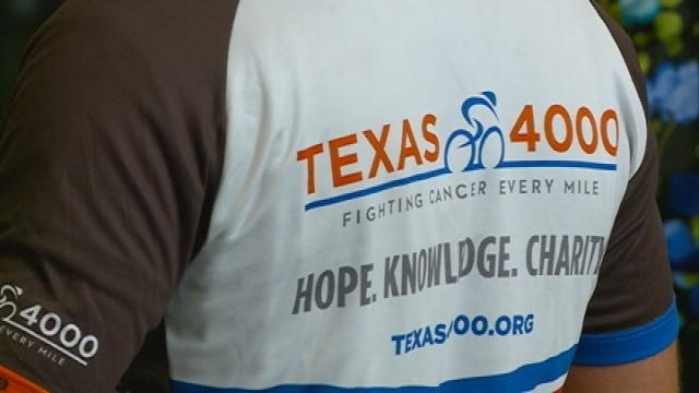 Cyclists ride cross country for cancer research