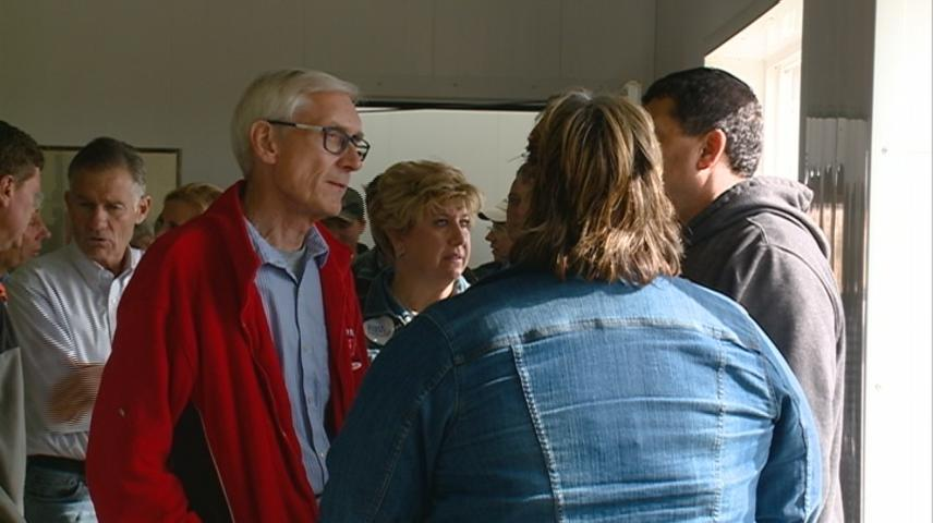 Evers, Democrats tour Western Wisconsin