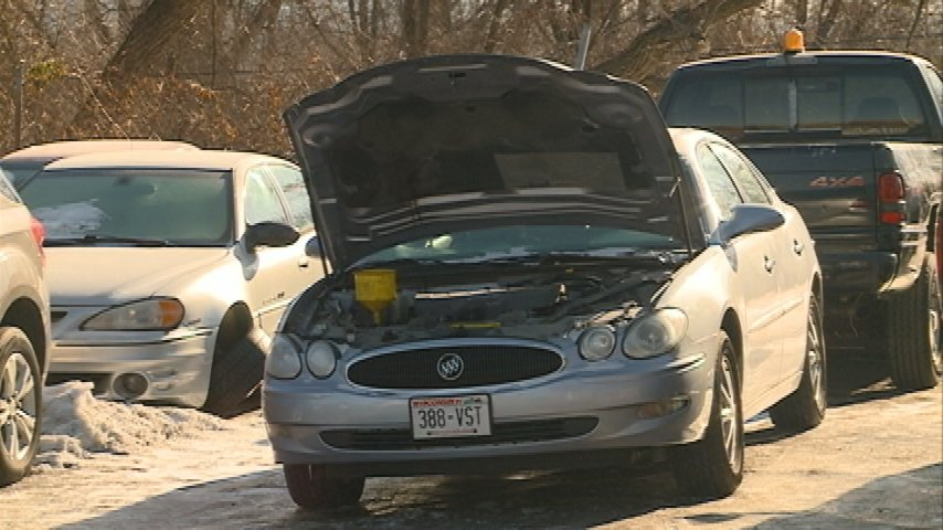 Extended cold causing increase in auto service calls