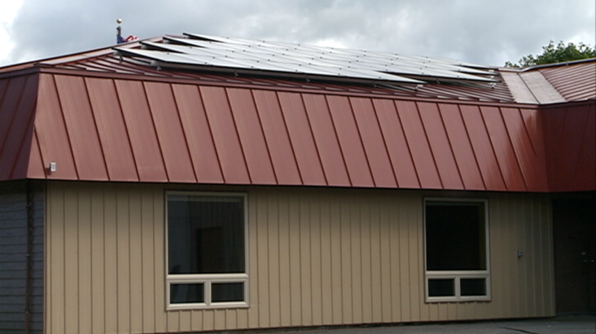 Town of Holland showcases solar energy