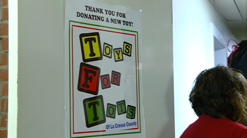 Toys For Tots donates toys to area families