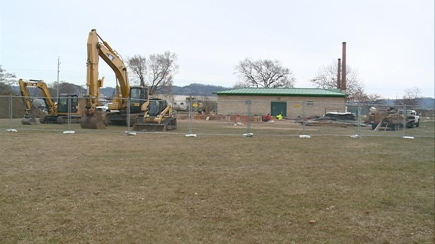 Construction underway for All Abilities Trane Park in La Crosse