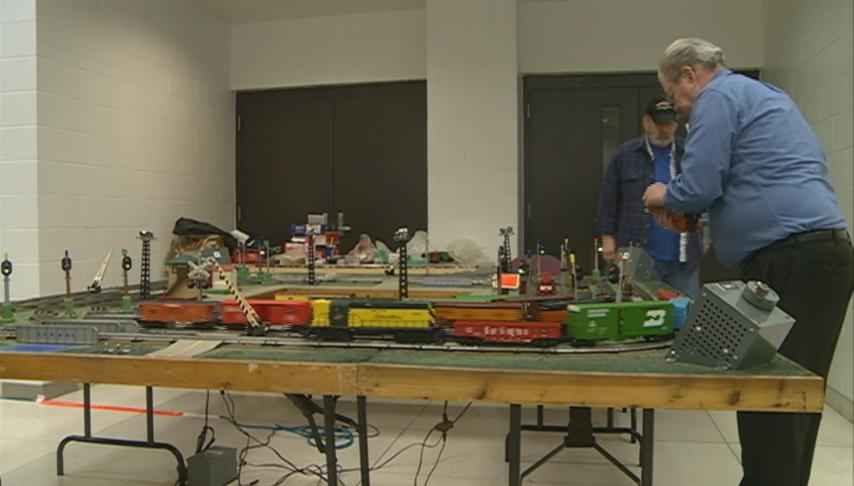 Train enthusiasts come together for the annual Tri-State Rail Sale