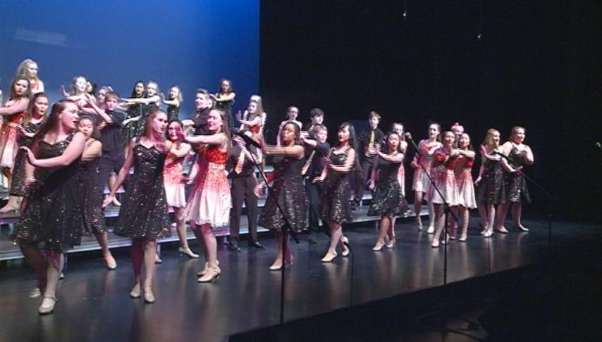 Viterbo University hosts annual 101 show choir competition