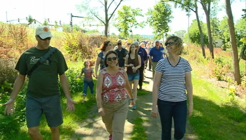 """""""Walk with Walker"""" promotes healthy living"""