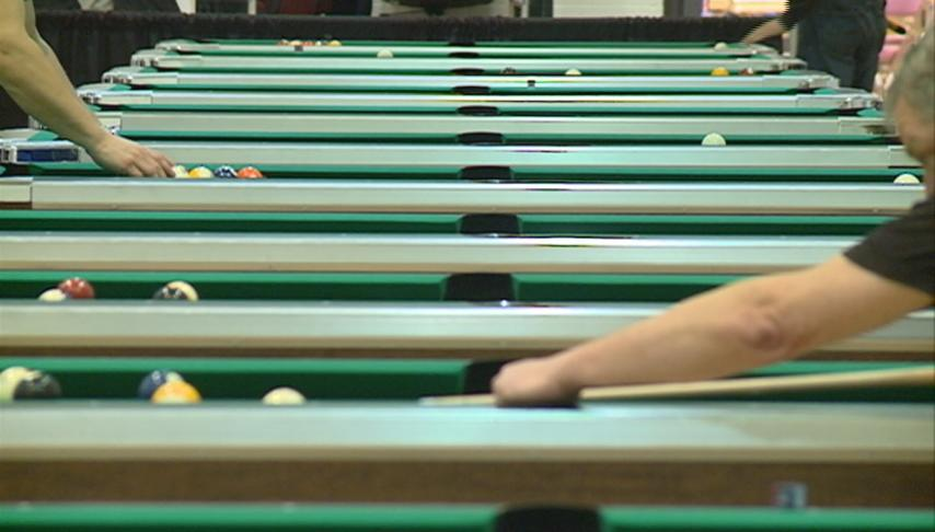 Pool players from across the state meet in La Crosse