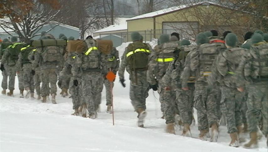 Northern Warfare Challenge tests ROTC member's mental and physical abilities