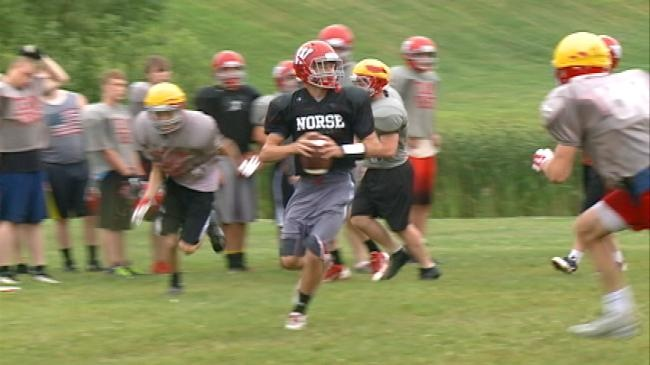 'Two-a-days': The 2015 Westby Norsemen