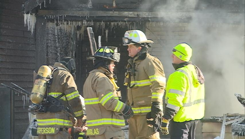 Winona Fire Department responds to Mankato Ave. house fire