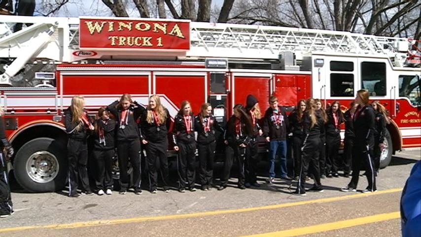 Winona High School team returns after becoming state runner-ups
