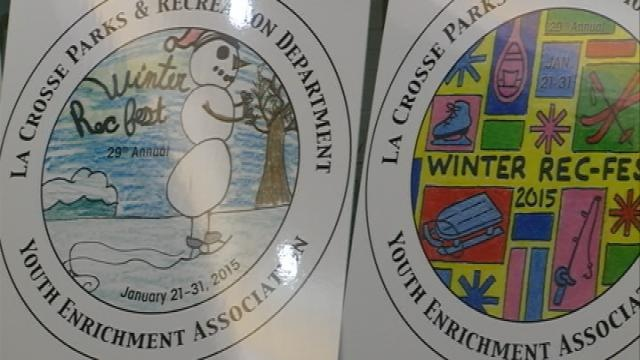 Winners unveiled in Winter Rec Fest Button design contest