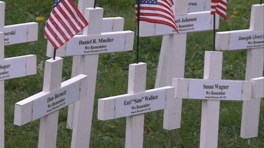 Community leaders observe Workers Memorial Day