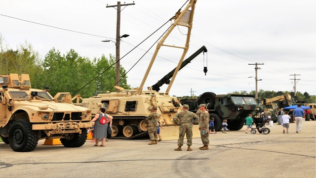 Fort McCoy hosts annual Armed Forces Day open house