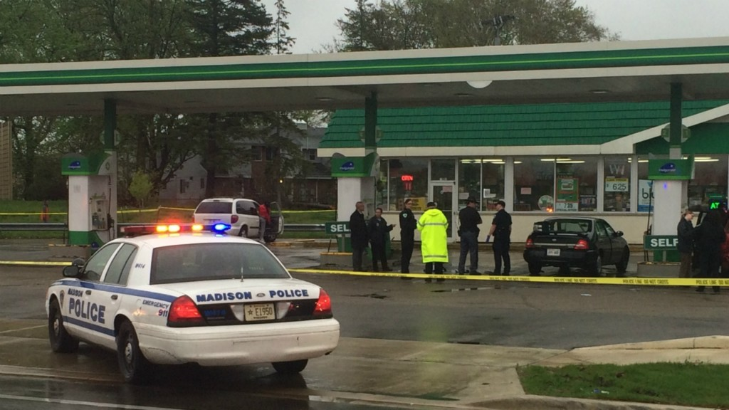 Madison Shooting at gas station is city's 5th homicide of year