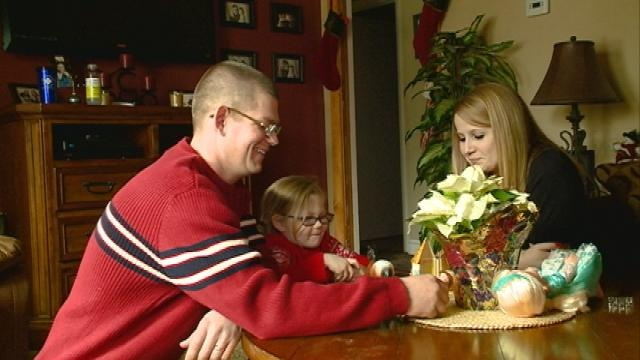 After three deployments, family spends first Christmas together