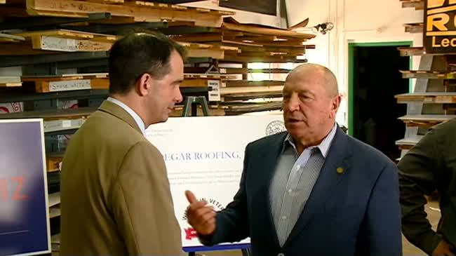 Gov. Walker announces campaign to promote veteran-owned businesses
