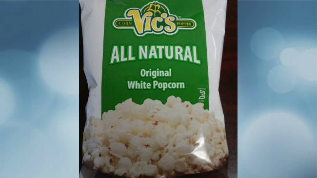 Popcorn sold in Wisconsin recalled for possible undeclared allergen