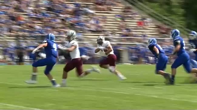 The Mike Schmidt era starts with blowout win over Luther College