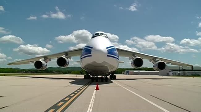 World's 3rd largest plane loaded at La Crosse Regional Airport